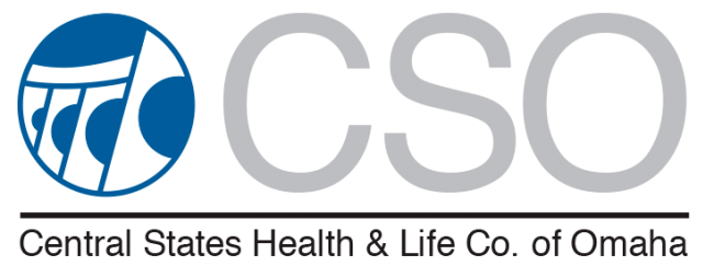 CSO central states health and life insurance logo for senior marketing specialists medicare FMO