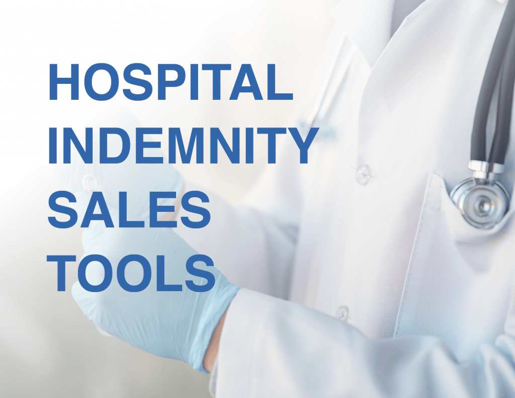 hospital indemnity sales tools for agents from senior marketing specialists medicare FMO