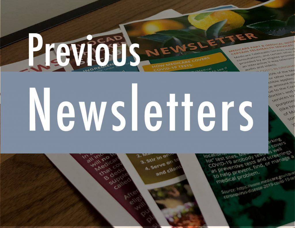 previous agent newsletters from Senior Marketing Specialists medicare FMO