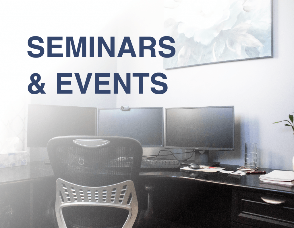 seminars and events for agents from senior marketing specialists medicare FMO