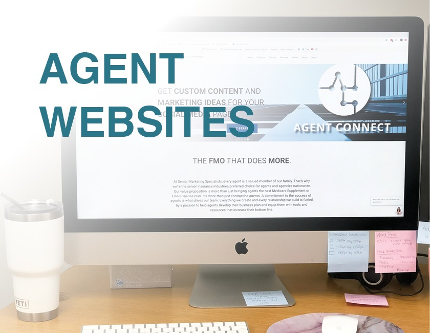 agent websites senior marketing specialists medicare FMO